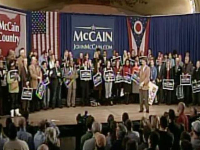 John McCain rebukes Bill Cunningham during 2008 campaign stop in Cincinnati