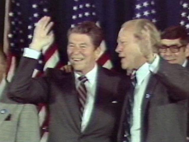 Ronald Reagan brings stars to Cincinnati in 1980