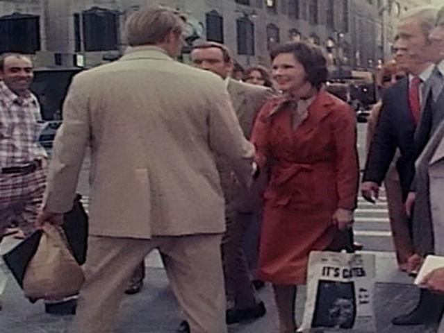 Rosalynn Carter charms Cincinnati in 1976