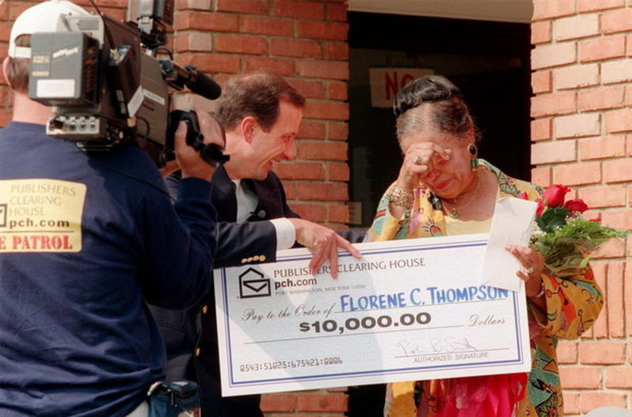 Publishers clearing house sweepstakes contest