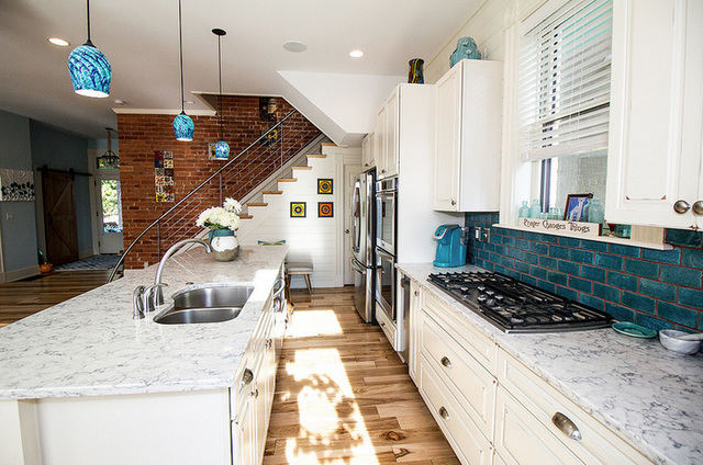 Remodeler Ric Sims Worked With Owners Grady And Suzanne Gibson In 2015 To  Remodel The Kitchen In Their 1892 Queen Anne Home. (Junior League Photo)