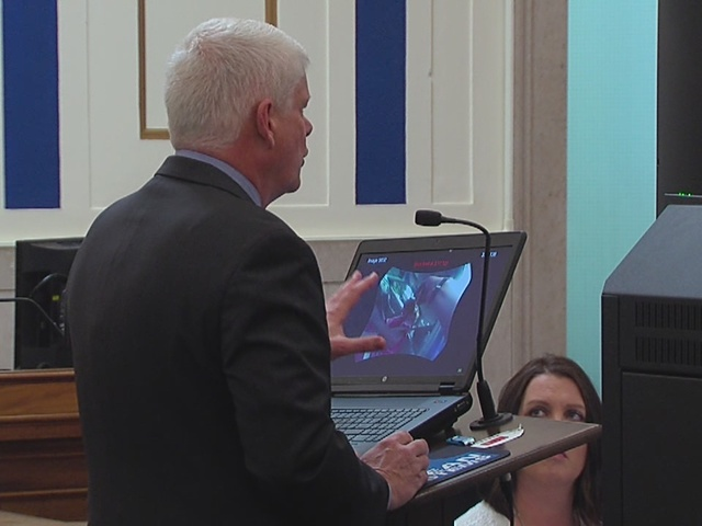 Grant Fredericks testifies during Ray Tensing trial