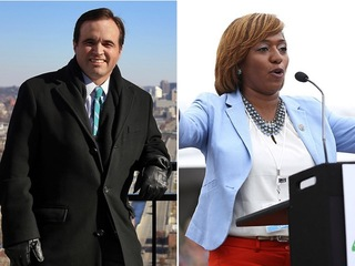 What are early votes saying about mayor race?