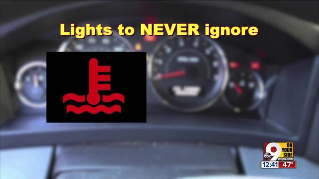 Dashboard Lights You Should Never Ignore WCPO Cincinnati OH - Car signs on dashboardcar warning signs you should not ignore