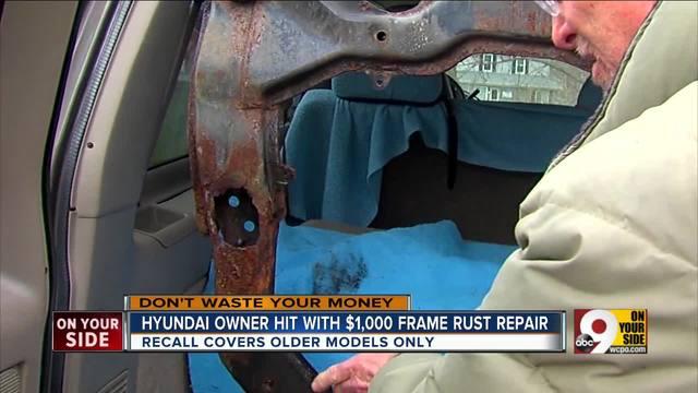 Road salt rust leaves Butler County man facing $1,200 repair - WCPO ...