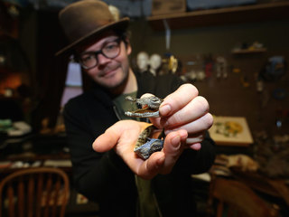 Inside the world of artistic taxidermy