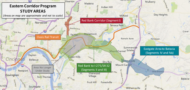Eastern Corridor improvements between Red Bank and I-275 are still ...