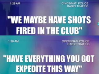 Police radio log shows massive response to Cameo
