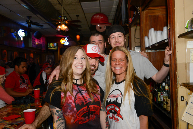 Reds Opening Day parties - Gallery