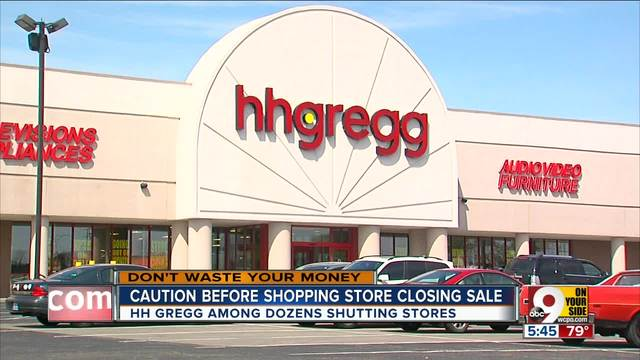Shopping hh gregg closing sale read this first wcpo cincinnati oh autoplay colourmoves