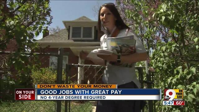 Great Jobs Good Pay No Degree Needed Wcpo Cincinnati Oh