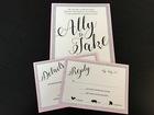Ally Kraemer: Try DIY wedding invitations