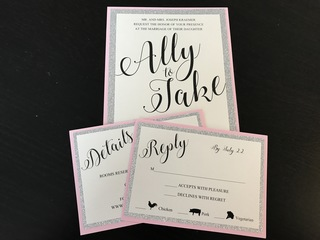 Ally Kraemer: Try DIY wedding invitations