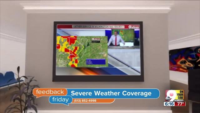 Feedback Friday- Why do we interrupt your shows for weather-