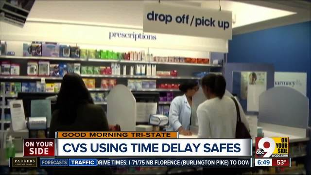 cvs pharmacy installs time delay safes to deter would be robbers