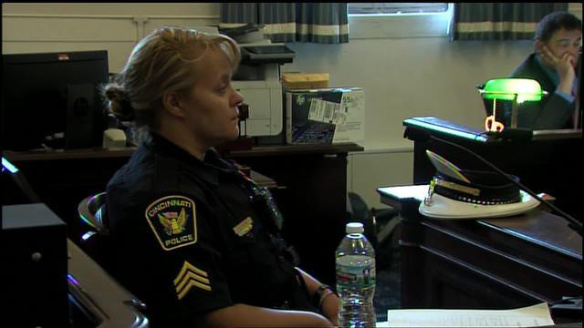 Sgt- Shannon Heine testifies in Ray Tensing retrial