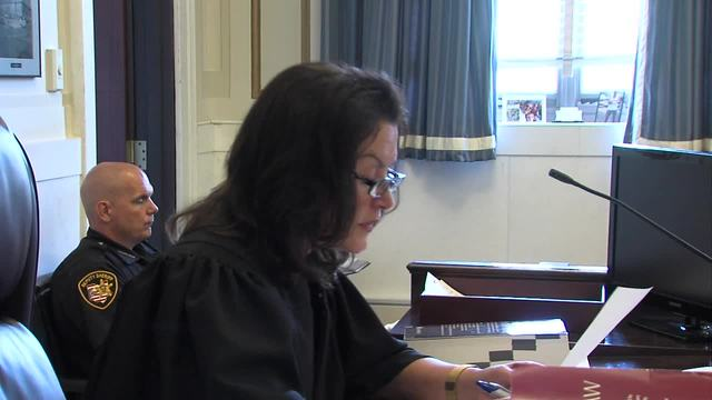 Ray Tensing retrial- Judge Leslie Ghiz gives jury instructions