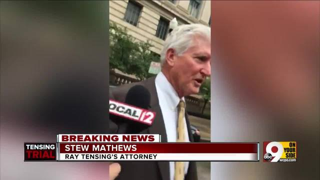 Ray Tensing-s attorney Stew Mathews comments on mistrial