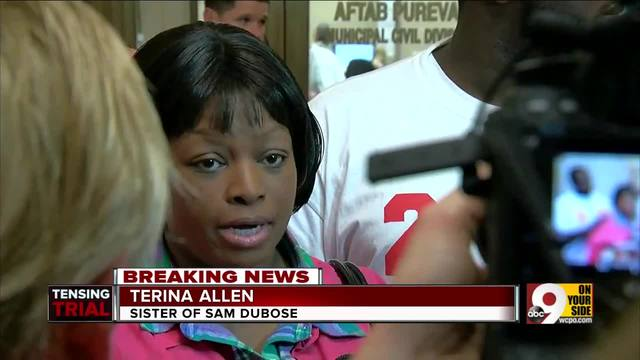 DuBose family -outraged-- but calls for peace