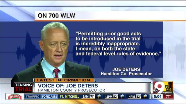 Prosecutor Joe Deters says he can-t indict Ray Tensing on lesser charges