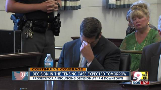 Joe Deters will announce decision Tuesday on third Ray Tensing murder trial