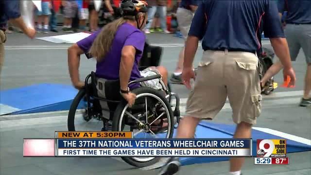 national veterans wheelchair games bring 600 athletes to cincinnati