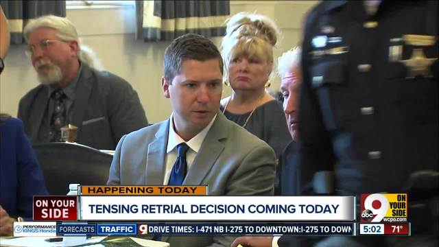 Joe Deters will announce decision today on third Ray Tensing murder trial