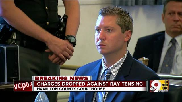 Judge dismisses charges against Ray Tensing at Monday morning hearing