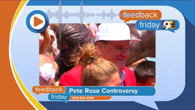 Feedback Friday- Pete Rose and fell