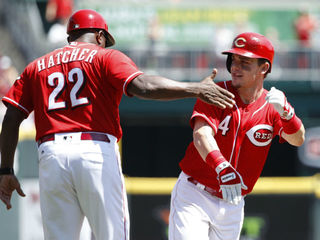 Reds podcast talks to Winker and Gennett