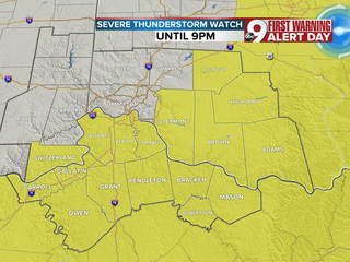 Severe threat ends, now much cooler