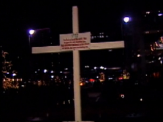 Vault: KKK erected cross on Fountain Square