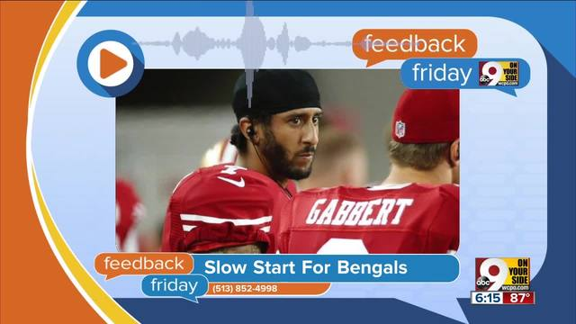 Feedback Friday- Slow start for the Bengals