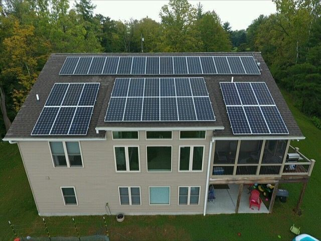 Milford Resident Walt Fischeru0027s 38 Solar Panels Process So Much Energy His  Monthly Bill Is About Zero. Heu0027ll Be Hosting During The Green Energy Home  Tour.