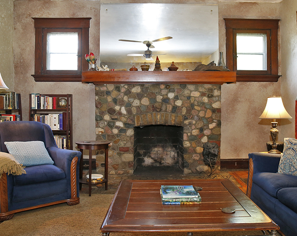 The Living Room Fireplace, Photographed In The Cold Spring, Kentucky, Home  Of Connie Goldstein, Thursday, Sept. 21, 2017. (Photo By Gary Landers/WCPO) Part 34