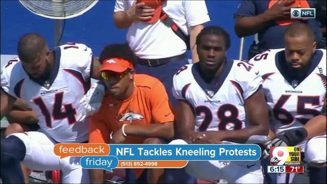 Feedback Friday- NFL tackles kneeling protests