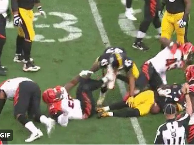 Burfict Fined 12K For Kicking Steelers Player
