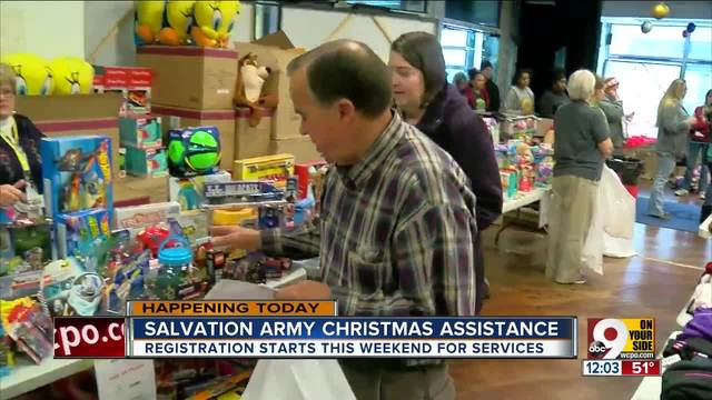 Registration for Salvation Army\'s Toy Shop begins Thursday to ...