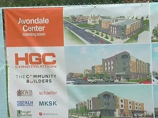 Avondale revamping its town center on Reading Rd