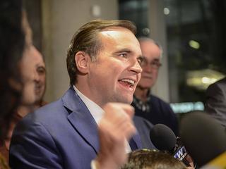 PHOTOS: John Cranley re-elected Cincinnati mayor