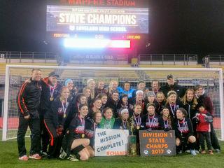 Loveland girls soccer wins first state title