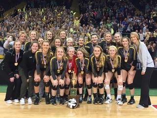 Ursuline volleyball wins D-I state championship