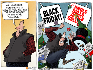 EDITORIAL CARTOON: 'Tis the season