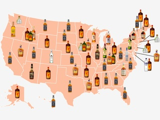 This is the most popular liquor in your state