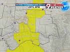 Severe Thunderstorm Watch for some of Tri-State