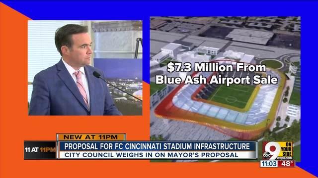 FC Cincinnati stadium: Mayor John Cranley asks for ...