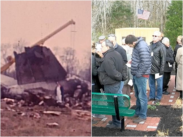 Survivors gather at memorial for worst CVG crash