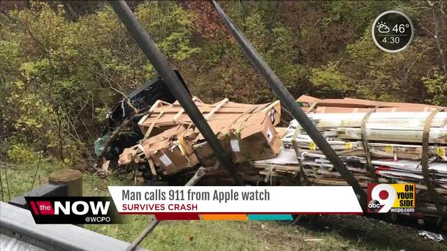 Man calls 911 from Apple watch