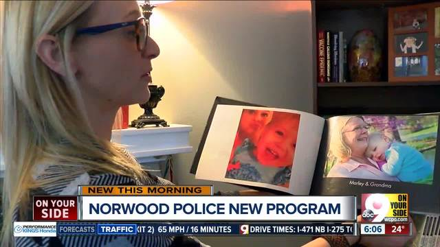 Norwood police want a better system for helping people with autism