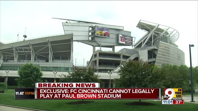 Paul Brown Stadium officially out as a home for FC Cincinnati